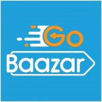 Gobaazar grocery store logo