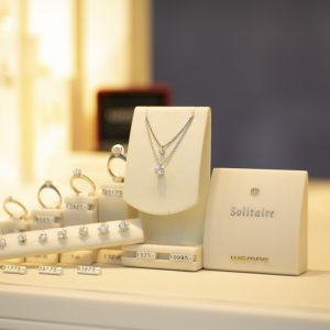 Jewellery products shop using Retailcore software
